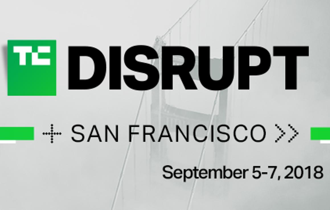 disrupt San Francisco 2018 logo